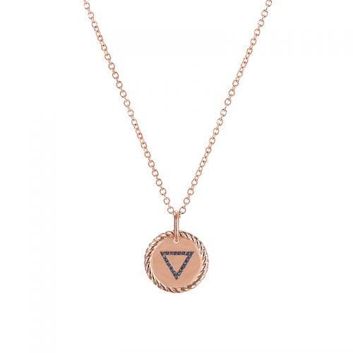 Collar-4-elementos-Agua-enchape-en-oro-rosa