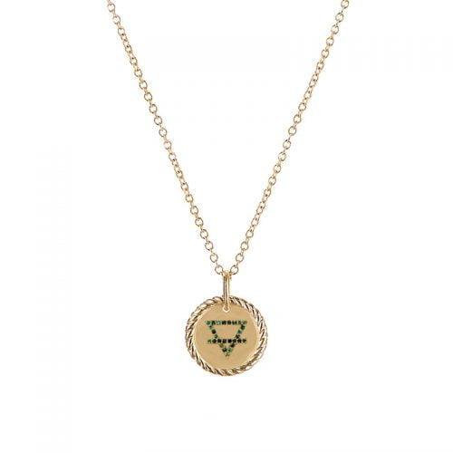 Collar-4-elementos-Tierra-enchape-en-oro