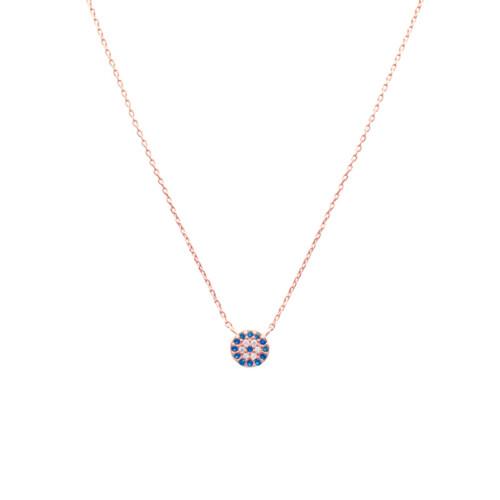 Collar-ojo-circones-enchape-en-oro-rosa