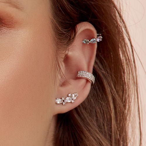 Close-up-Ear-cuff-multicolor-turmalina-morado-mix-and-match