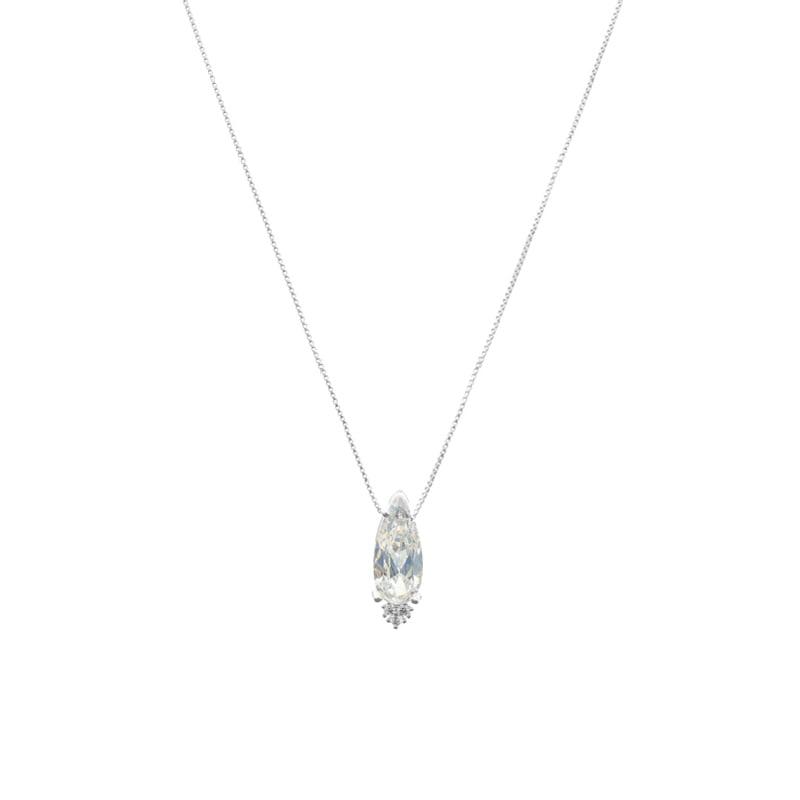 Collar-gota-invertida-crystal-plata-925