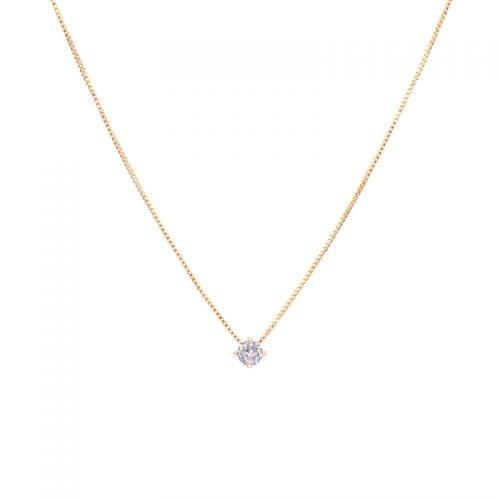 Collar-circón-solitario-enchape-en-oro-rosa-1