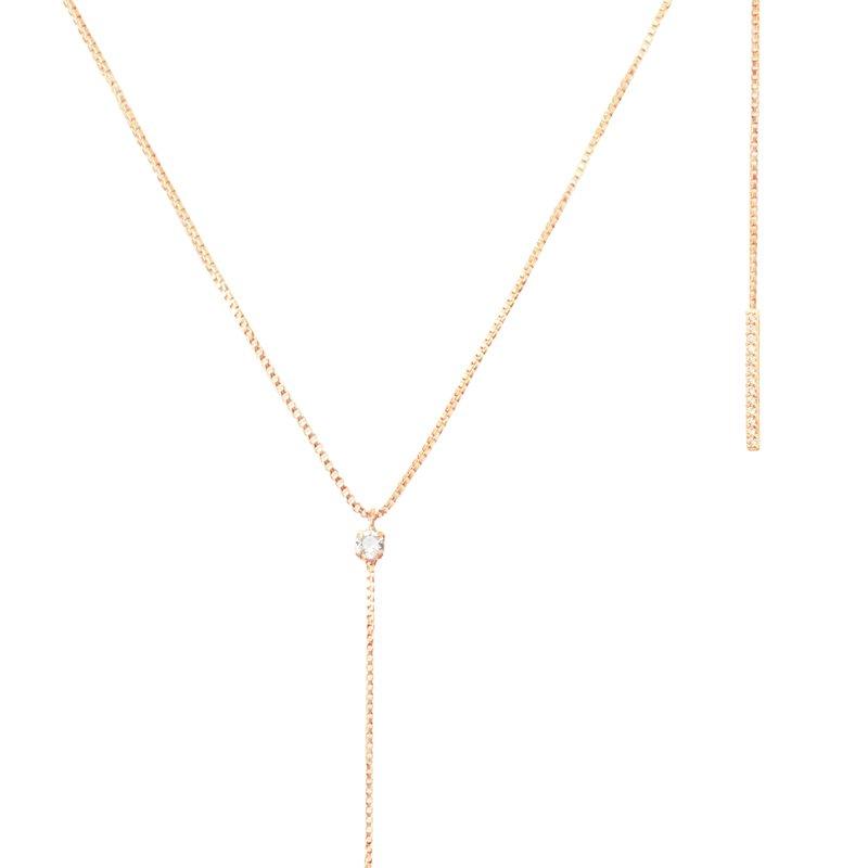 Collar-lariat-barra-circones-enchape-en-oro-rosa